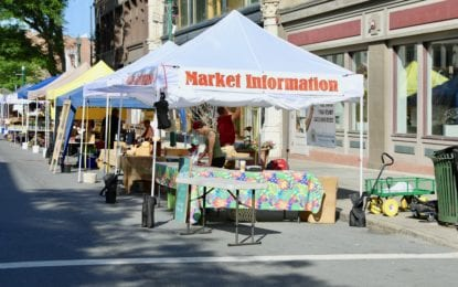 Troy Waterfront Farmers Market 20th season starts outdoors Saturday