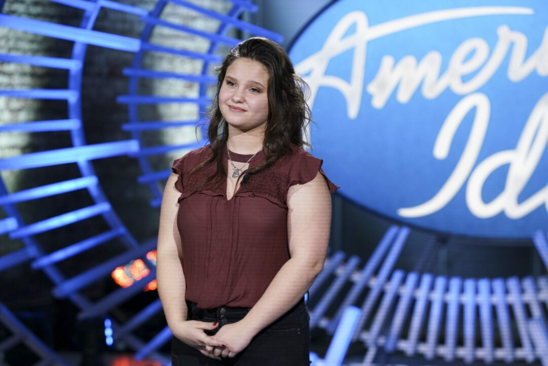 Shaker's Madison VanDenburg in American Idol Top 14