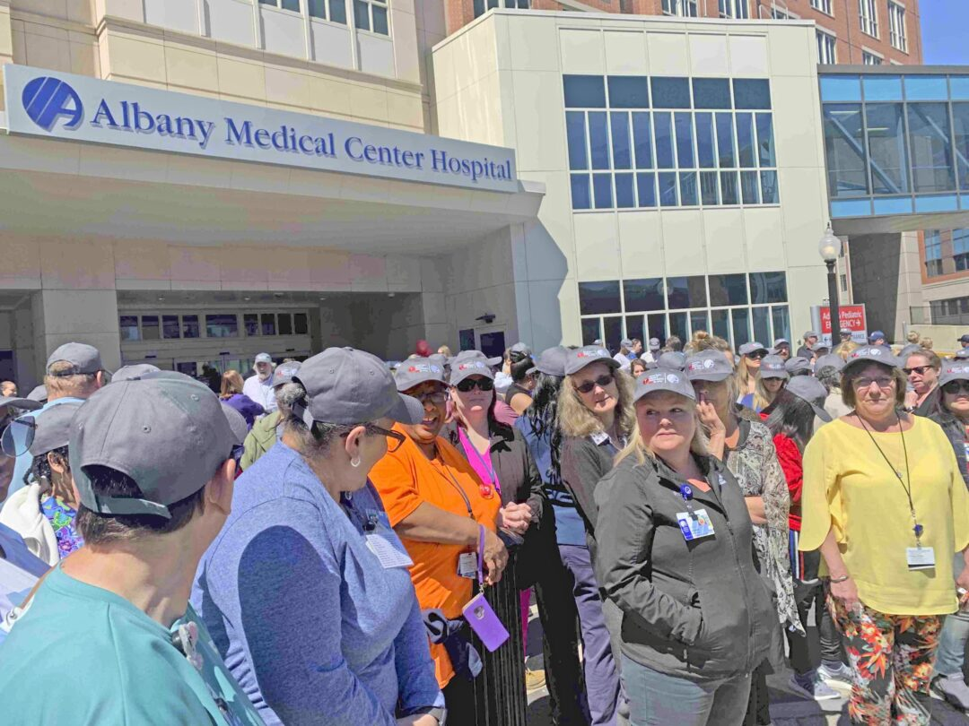 Albany Med lead by example at annual Heart Walk last week (w/photo gallery)