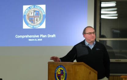 Colonie Comp Plan hearing adjourned again