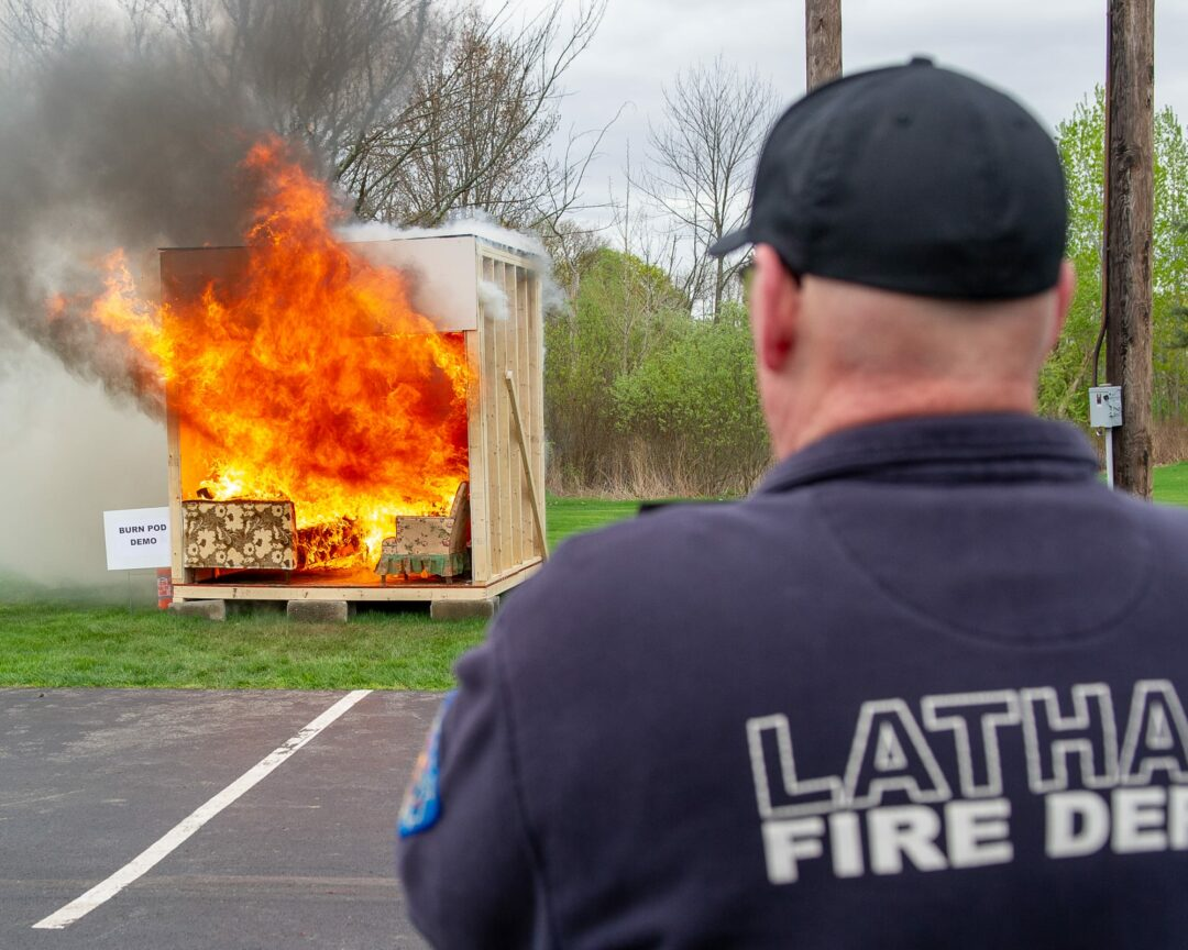 As numbers shrink, fire departments look for new volunteers (w/photo gallery of the Latham FD Open House)