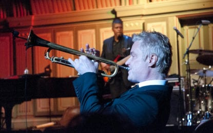 SPOTTED: Chris Botti at Troy Music Hall