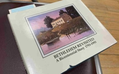 Book revisits Bethlehem's history