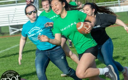 SPOTTED: The sixth annual Raiderfest (with a powderpuff football game)