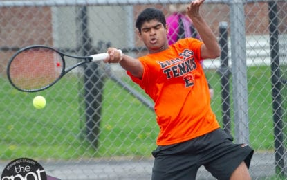 Bethlehem tennis moves to 13-0 on the season; extends win streak to 32