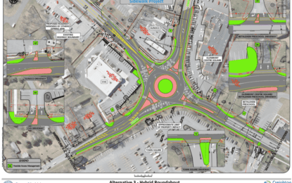 Glenmont roundabout project update