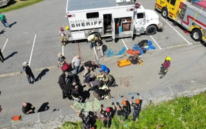 Guilderland teen rescued after falling off cliffs at Thacher Park