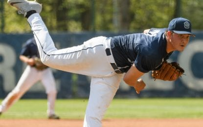 Delmar pitcher gets 'the call'