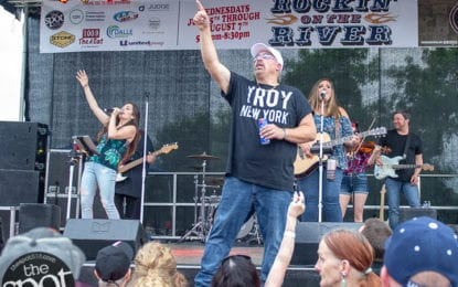 SPOTTED: Rockin' on the River with Skeeter Creek and Raquel & the Wildflowers