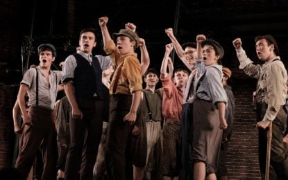 REVIEW: Park Playhouse's 'Newsies' amazing, stellar production value