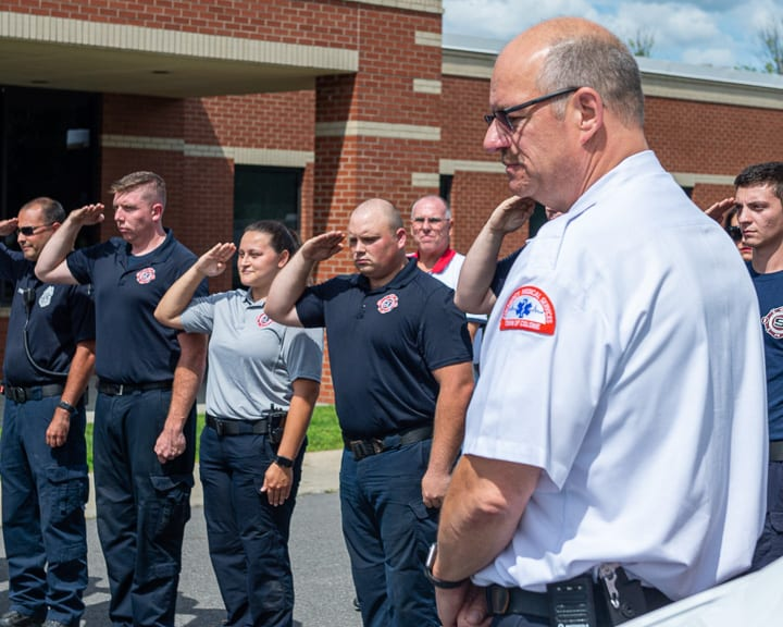 Colonie EMS turns 30, chief retires and another appointed
