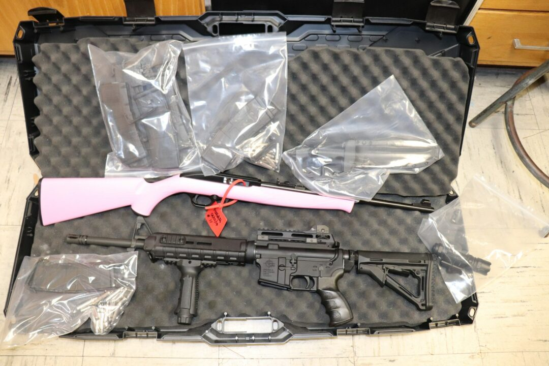 Colonie police confiscate more than 3 pounds of pot and an assault rifle