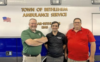 Delmar man earns national accolade through service with regional EMS