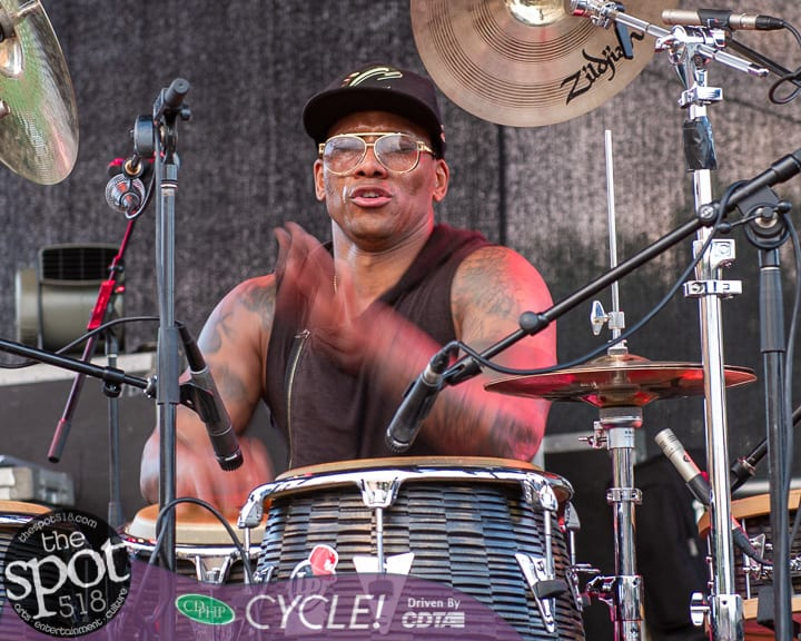 SPOTTED: Rockin' on The River with Sten and Maria Z and Pedrito Martinez