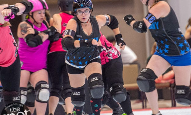 SPOTTED: The Albany All Stars vs. The Black Diamond Rollers