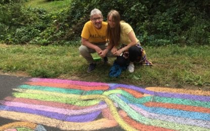 Public invited to design chalk squares on the Rail Trail