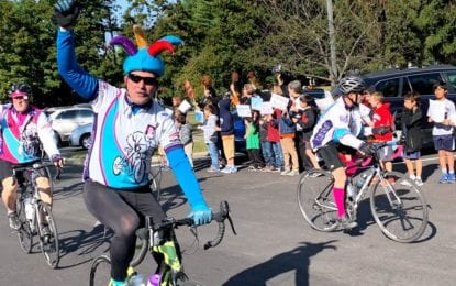 Ride for Missing Children stops by Hamagrael Elementary School (photo gallery)
