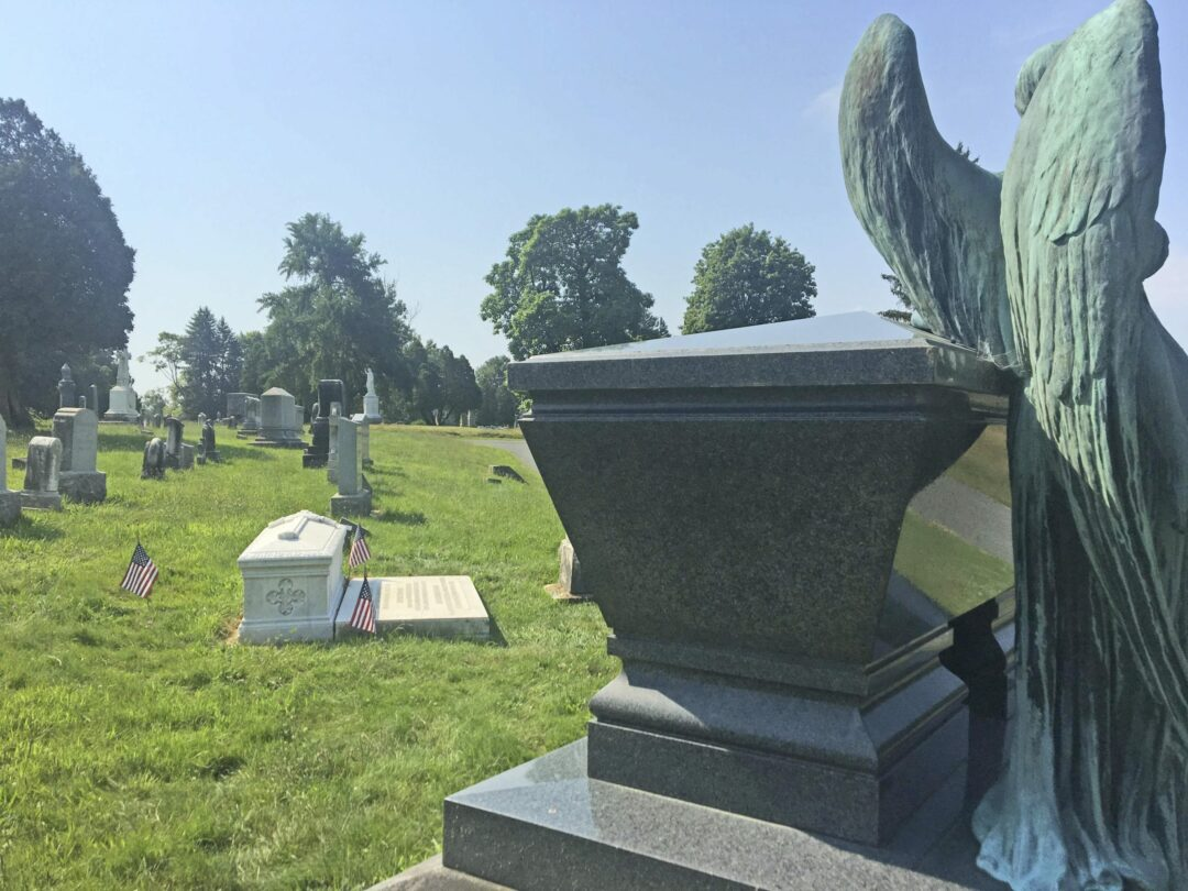 DISCOVER MENANDS: Albany Rural Cemetery is a who's who of local, national history