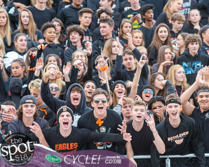 SPOTTED: Bethlehem fans get new bleachers; Eagles lose to Shen 40-7