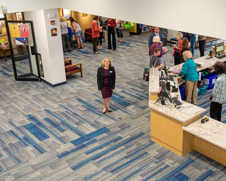 The William K. Sanford Town Library passed the first threshold in a multi-phase renovation project