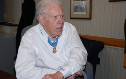 Local WWII veteran, Medal of Honor recipient dies at 94