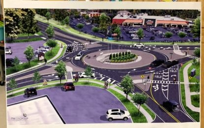 Glenmont roundabout is on its way (w/photo gallery)