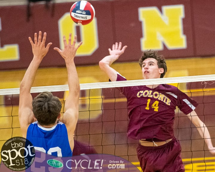 SPOTTED: Colonie boys volleyball team's season ends in quarterfinals