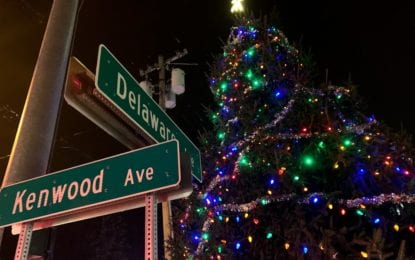 Bethlehem Christmas tree is now lit for the holiday season