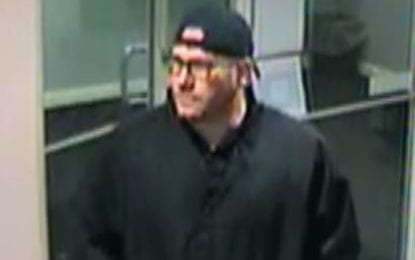 Colonie police look for bank robber