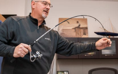 Bigger is not better: Latham company trying to hook  customers on 42-inch rod