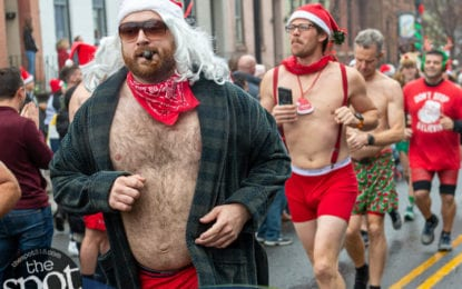 SPOTTED: The 14th Annual Santa Speedo Sprint