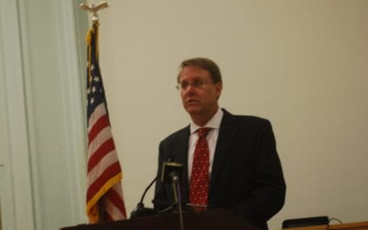 Supervisor VanLuven delivers State of the Town address in Bethlehem
