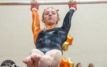 SPOTTED: Saratoga edges Bethlehem gymnasts on senior night