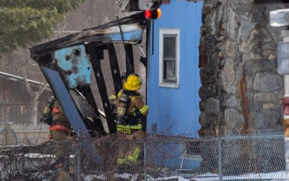 Fire damages home in Colonie