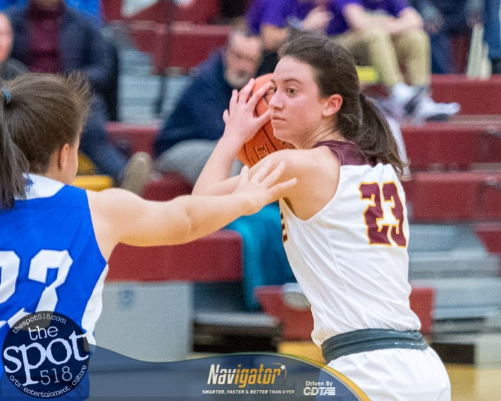 SPOTTED: Colonie girls beat Shaker; claim town bragging rights