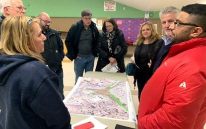 Businesses start sharing ideas, concerns for Glenmont roundabout works