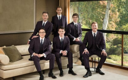An Audience with The King's Singers at Troy Music Hall on Saturday, Feb. 29
