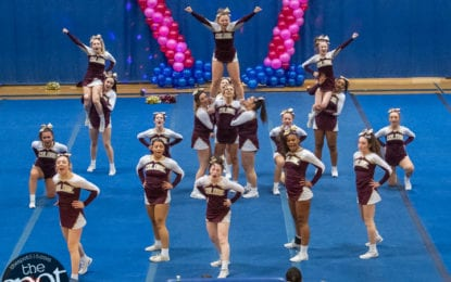 SPOTTED: South Colonie wins the inaugural Sweetheart Classic cheerleading competition at Shaker High