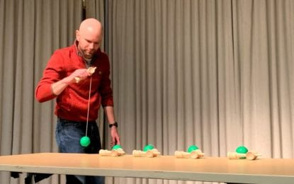 Delmar man may have set new Guinness World Record with Japanese toy