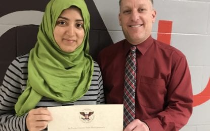 Guilderland High School senior receives national award for volunteering efforts