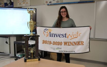 BCHS senior wins first place statewide in national competition