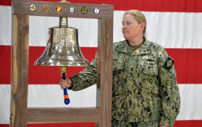 100-year-old bell finds a home at the Military and Naval Affairs building in Colonie