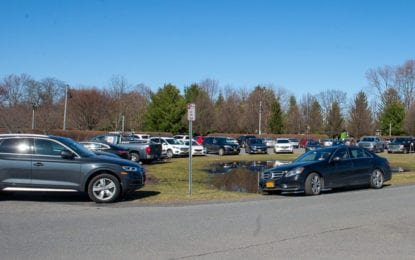 The Crossings in Colonie will close to vehicular traffic