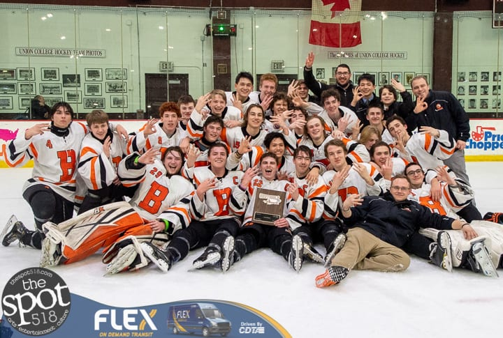 SPOTTED: Bethlehem hockey wins third straight Section II title