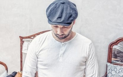 Hipsters. Old men. Women, wear them, too. The flat cap is a trend that won't go away soon.