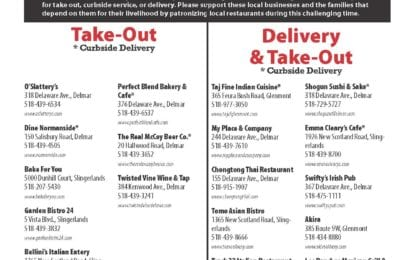 (LIST)-Our Bethlehem area local restaurants are open and need your help!