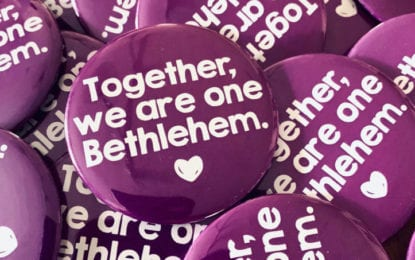 One town, one heart: 'Together, We Are One Bethlehem.'