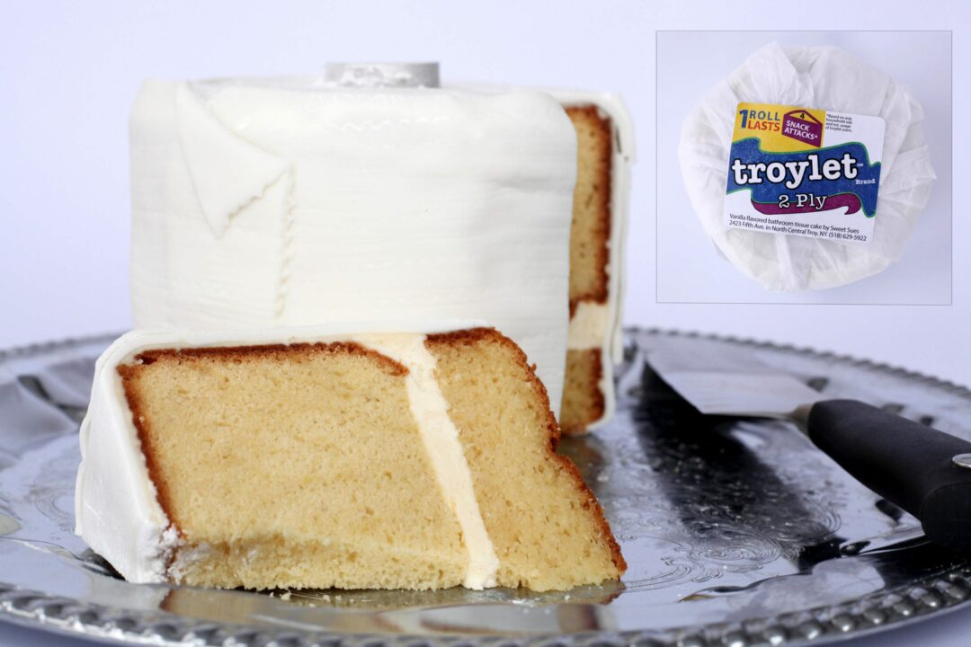 Troy shop backed up by orders for cake with crappy name