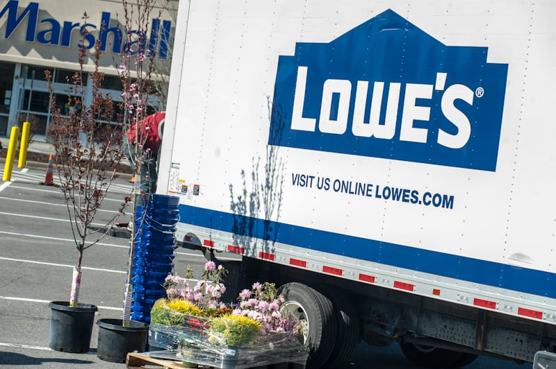 Lowes gifts Bethlehem's first responders