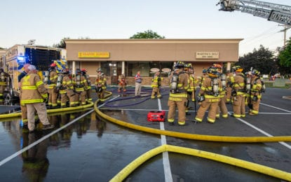 Fire damages three businesses at Shaker Pine Plaza in Colonie (w/slideshow)